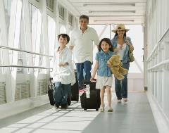 Family traveling